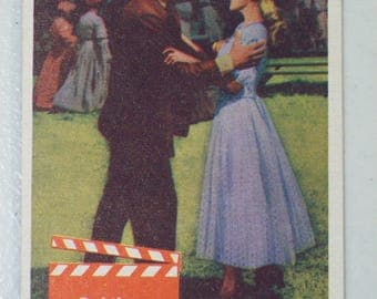 Antique  1956 Elvis Presley Trading Card Love Me Tender Movie Bad News, No. 56 Bubbles Inc.