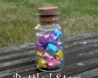 Bottled Origami Stars - Colours