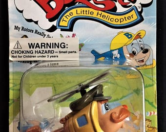 Budgie Toys The Little Helicopter 1995 LIONEL Character Toy Helicopter from the childrens TV series New on Card