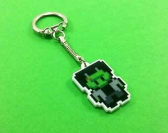 Frankenstein Keychain - Horror Movie Keychain - Horror Keychain - Frankenstein Gift - Frankenstein Birthday Gift