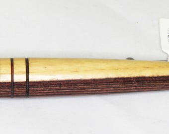 Gunmetal Tablet Stylus - Ironwood with Rubber Tip and Pocket Clip