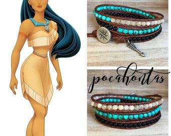 POCAHONTAS Triple Wrap Bracelet
