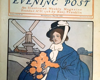 Vintage Saturday Evening Post Magazine, May 25, 1901
