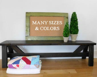 olive green bulletin board framed cork board playroom wall decor rustic distressed wood