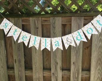 Stella & Dot stylist banner for trunk shows {also available in ALL CAPS!}