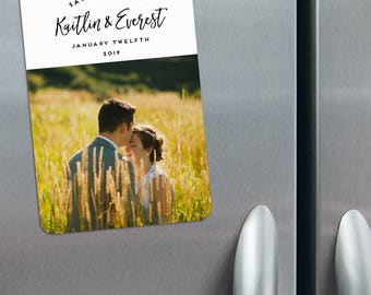 Our Special Love - Photo Save the Date Magnets + Envelopes