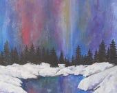Art Print Northern Lights...