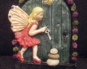 Large Fairy Door.