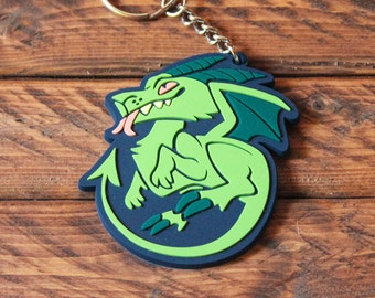 Cryptid Rubber Keychains - Jersey Devil