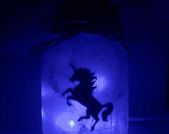 EU Plug Unicorn in a jar