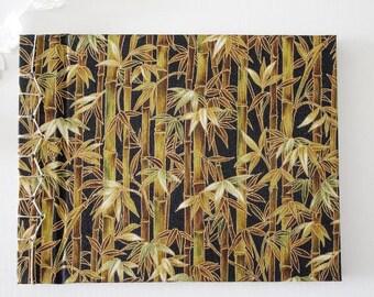 Bamboo notebook, Notebook japanese handmade bookbinding, notebook, travel notebook, stationery, sketchbook