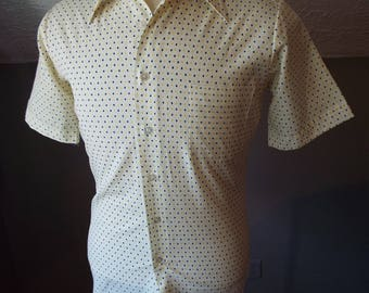 Vintage Short Sleeve Button Down Shirt by KMart