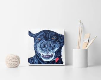 Dog Portrait / Custom portrait / Pet Painting / Custom Dog Painting from Photo / Cat painting / Custom Pet Portrait / Custom dog portrait
