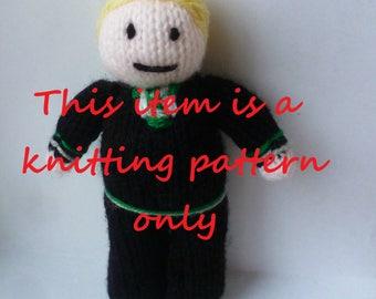 PDF knitting pattern: Draco Malfoy (Harry Potter)