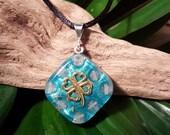 Rose Quartz Orgone Pendant - Handmade Healing Jewelry - Spiritual Gift, Chi, Prana, Energy Balancing - Spiritual Gift - Small