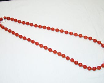 A-11 Early Peking glass beads Necklace