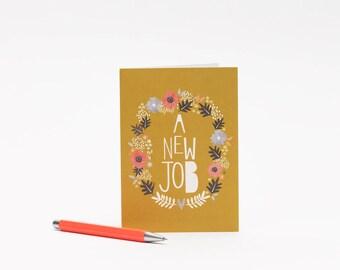 A New Job Card