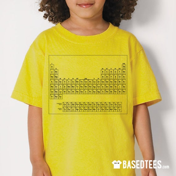 ST2 - Dustin 80s Periodic Table T-Shirt