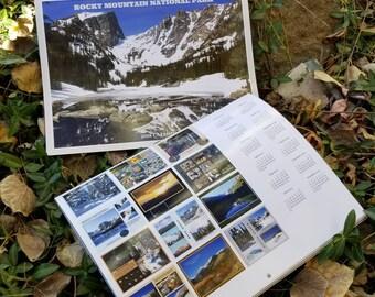 2018 Calendar - Rocky Mountain National Park (Free Shipping)
