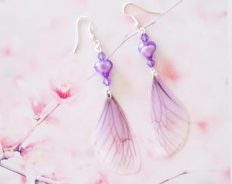 earrings fairy wings