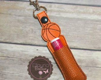 Lip Balm, Chapstick, Flash Drive, USB Drive Holder - Basketball