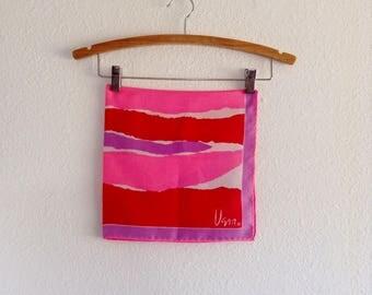 Vintage Vera Neumann Silk Scarf