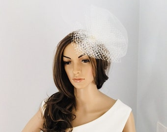 Bridal hair piece unique design