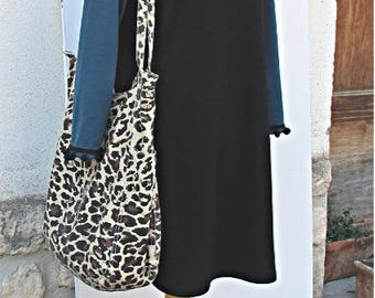 oil and black winter dress