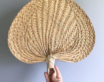 Woven Straw Fan / Woven Wall Fan / Straw Fan