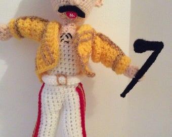 Crochet Freddie Mercury