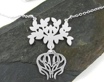Entien aztec silver wedding bands