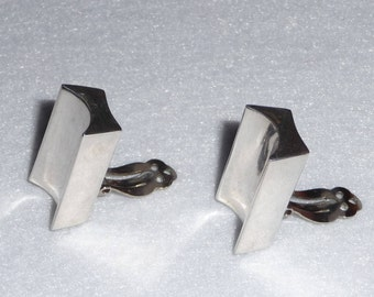 Mexico. Earrings. Sterling Silver. Vintage.