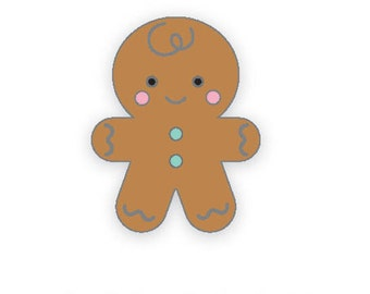 Gingerbread man Collectible pin/ Doodlebug Collection/Christmas collectible pin/ Collectible pin Limited Edition