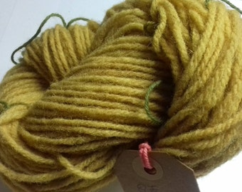 Sour Grapes. 45g of naturally hand dyed DK weight yarn