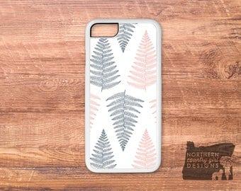 fern phone case / iPhone 7 case / iPhone 6 case / iphone 7 plus case / iPhone case / phone case / fern / iPhone 6 plus case / pressed flower
