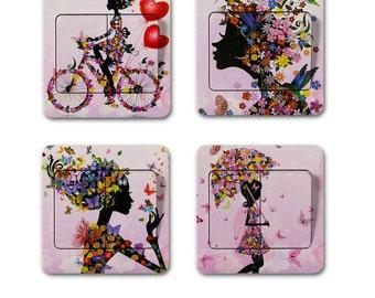 Switch Sticker woman 1 X