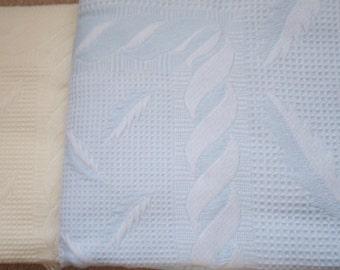 Baby shawl, blanket, pram, cot, moses basket