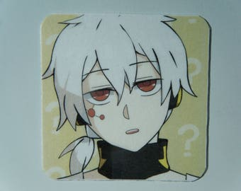Konoha Magnet, Konoha from Kagerou Project Fan Art, Mekakucity Actors, Kagerou Project Decor, Haruka Kokonose Refrigerator Magnet