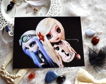 "Photo print ""Sisters"" - 11x15cm - Pullip Doll photography, print, art"