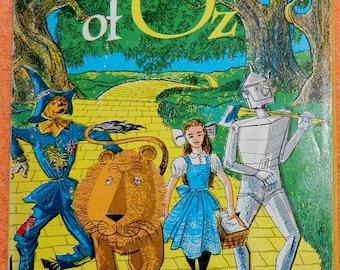 1971  Vintage The Wizard Of Oz Paperback L. Frank Baum Scholastic Books