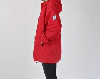80s GRENOBLE unisex outdoor anorak jacket / size M-XL