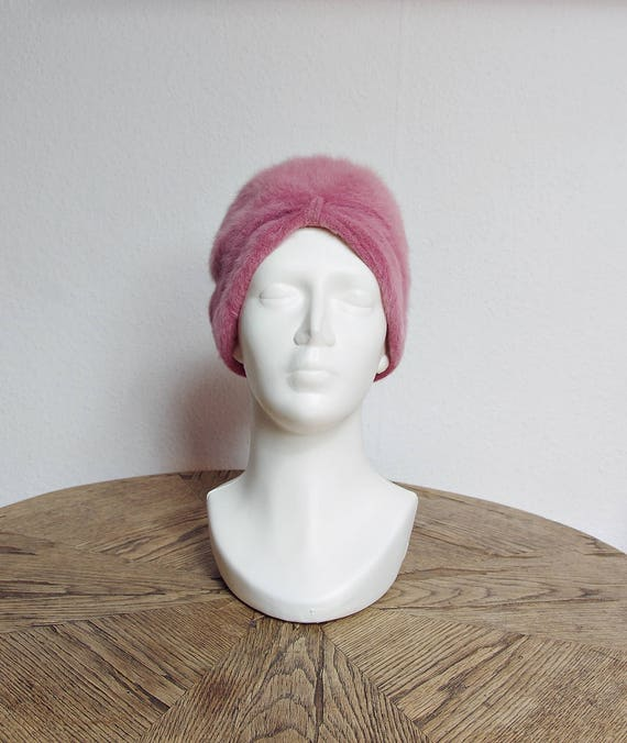 SALE - 70s Kangol Furgora Georgie turban hat