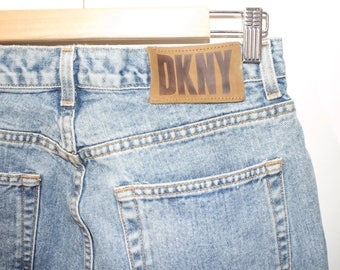 90s DKNY jeans - vintage - deadstock - high waisted jeans - womens size 12
