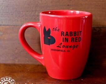 Rabbit in Red Lounge Mug 12oz - Halloween Movie Michael Myers Prop 1978