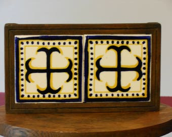 Cross Cercelee Mexican Tile Trivet
