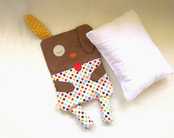 Puppy - Dog Cuddle Buddy - Baby pillow / cushion - Toddler pillow / cushion - cute animal
