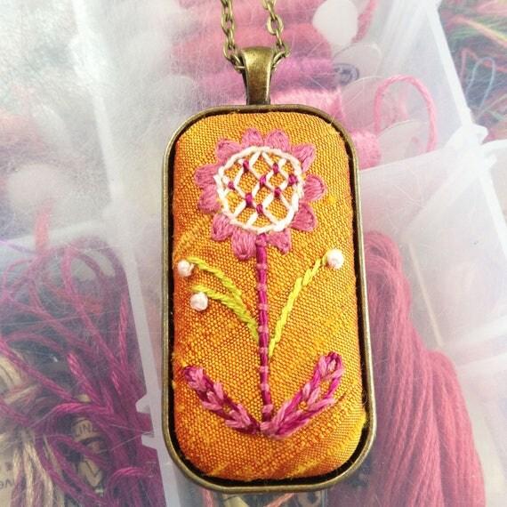 Mandarin Silk Necklace