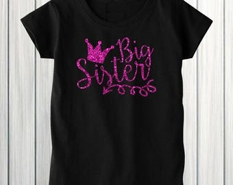 Big Sister Shirt, Big Sister Announcement Shirt, Big Sister, Glitter Shirt, Sparkle Shirt, Big Sister Outfit, I'm Going To be A Big Sister