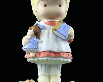 1986 Joan Walsh Anglund Collection Figurine My ABC's Handpainted Porcelain