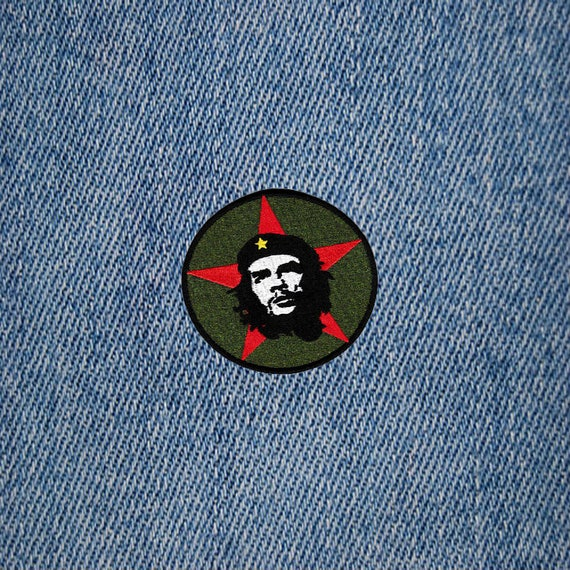 Vintage style che guevara revolution embroidered patch for Ka che vintage look